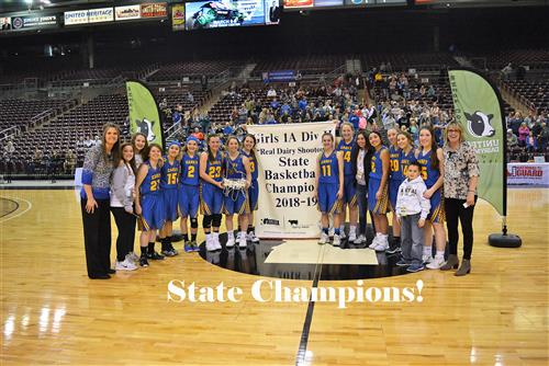 Girls State Champions Picture