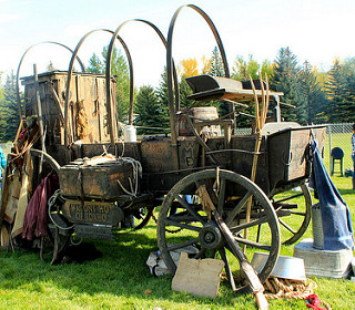 Pioneer Wood wagon