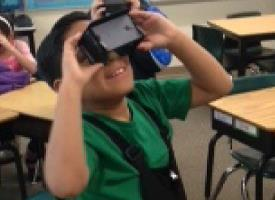 4th Grade Explores Virtual Reality