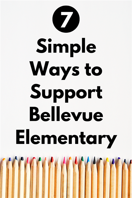 Seven Ways to Support Bellevue Elementary