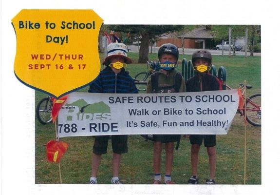 Bike/Walk to School Day is Coming