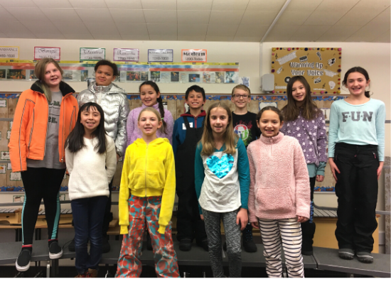 Bellevue Elementary Choir Student Sing in Idaho All-State Elementary Choir