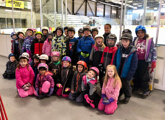 First Graders at the Campion Ice House