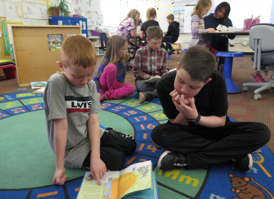 Students Reading for Read Across America